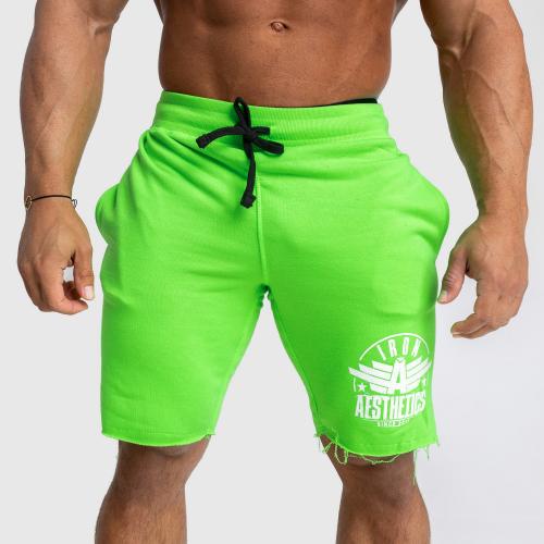 Férfi melegítősort Iron Aesthetics Force, neon green