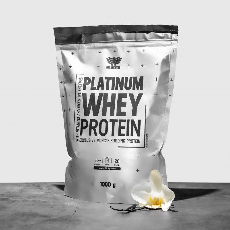 Platinum Whey Protein 1000g - Iron Aesthetics-3