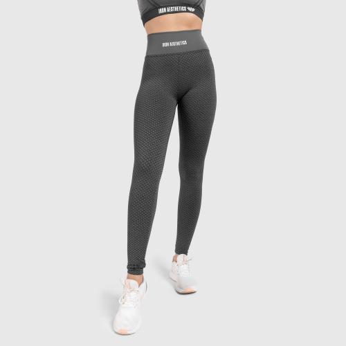 Női leggings Iron Aesthetics, charcoal szürke