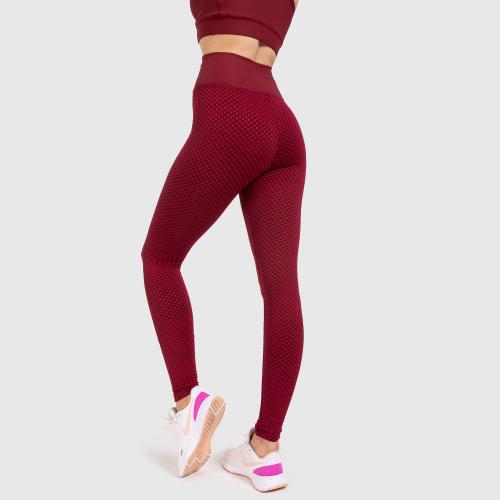 Női leggings Iron Aesthetics, bordó