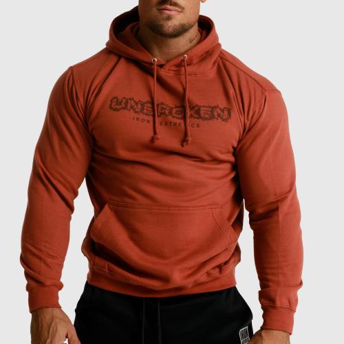 Fitness pulóver cipzár nélküli Iron Aesthetics Unbroken, rusztikus