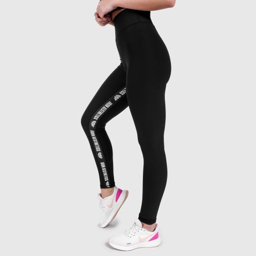 Női leggings Iron Aesthetics Te Tape, fekete