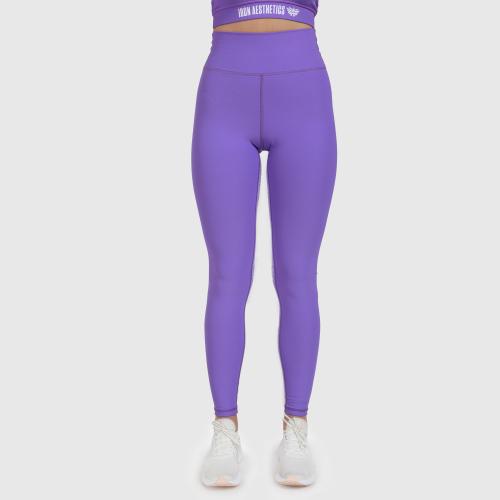 Női leggings Iron Aesthetics Te Tape, lila