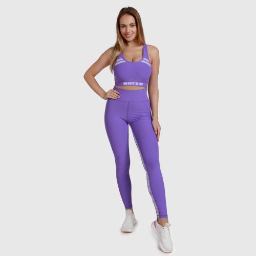 Női fitness szett Iron Aesthetics Te Tape, lila