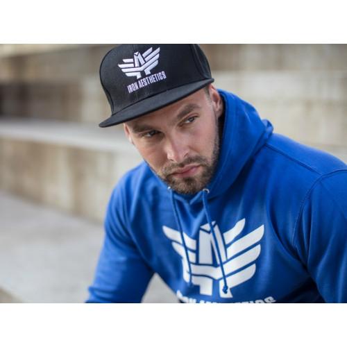Férfi pulóver Iron Aesthetics, kék