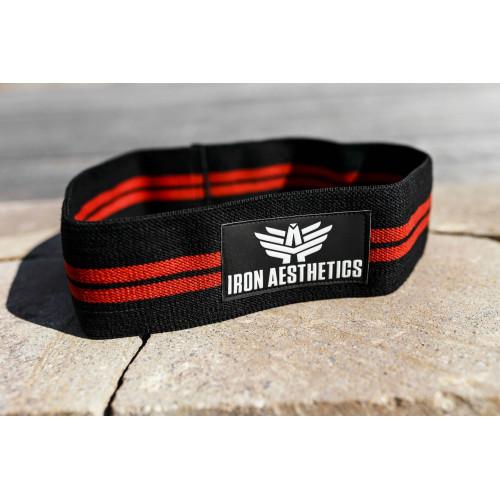 Erősítő gumiszalag Iron Aesthetics, fekete