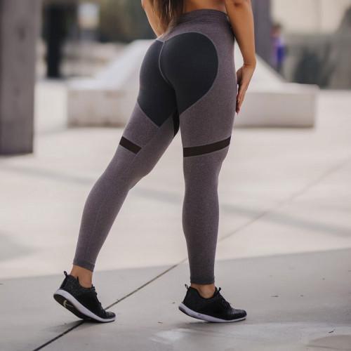 Női leggings HEART - Iron Aesthetics, szürke