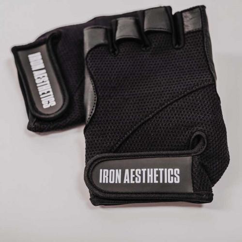 Edzőkesztyű Iron Aesthetics, fekete