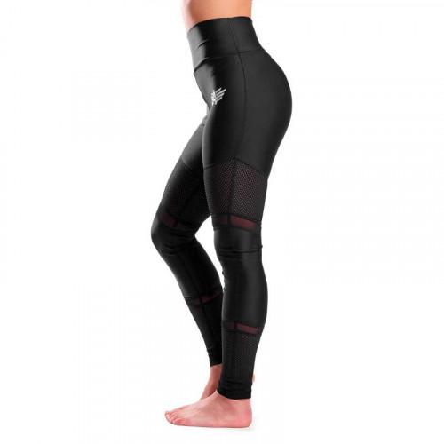 Női leggings Mesh - Iron Aesthetics, fekete