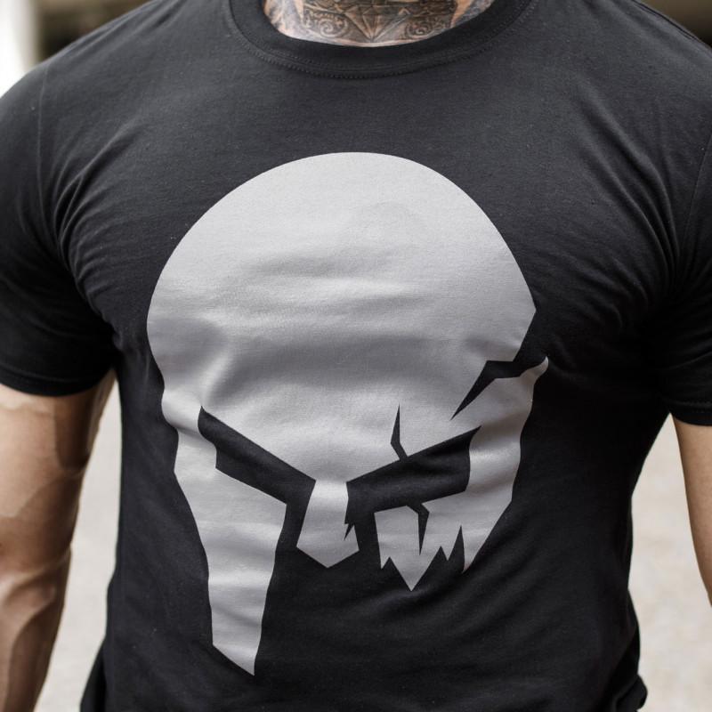 Ultrasoft póló Iron Aesthetics Skull, B&G-3
