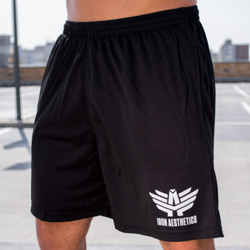 Funkciós rövidnadrág Iron Aesthetics Classic, fekete