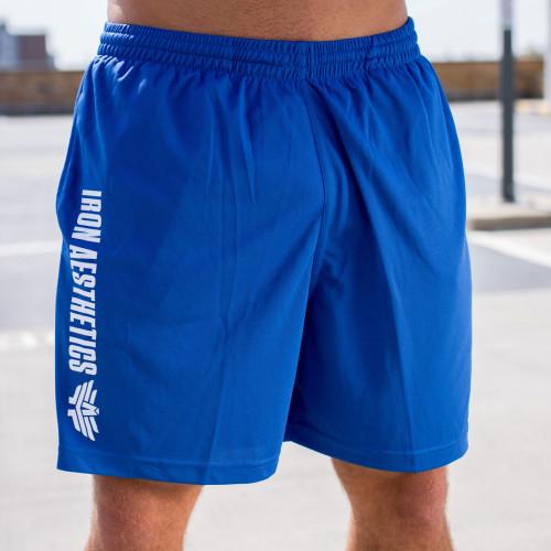 Funkciós rövidnadrág Iron Aesthetics, kék