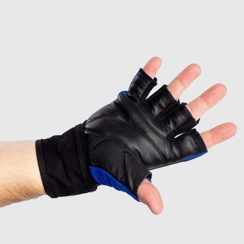 Edzőkesztyű Iron Aesthetics, kék