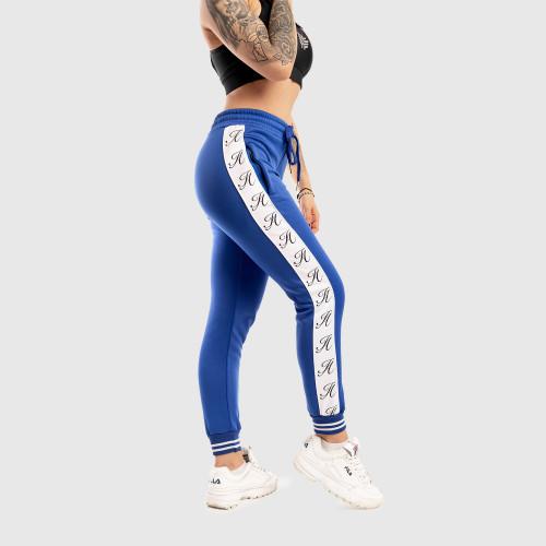 Női fitness melegítő Iron Aesthetics Striped, kék