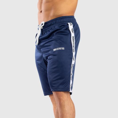 Funkciós rövidnadrág Iron Aesthetics STRIPES, kék