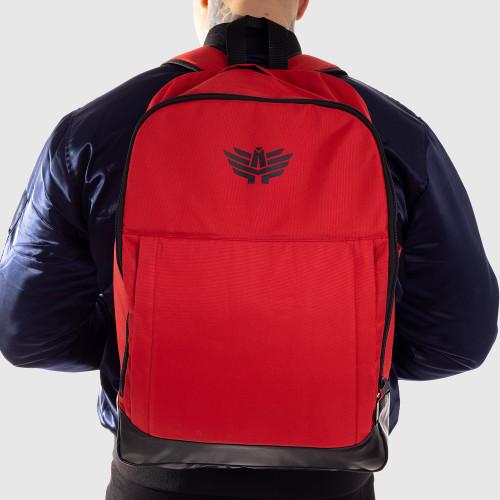 Sportos hátizsák Iron Aesthetics, piros