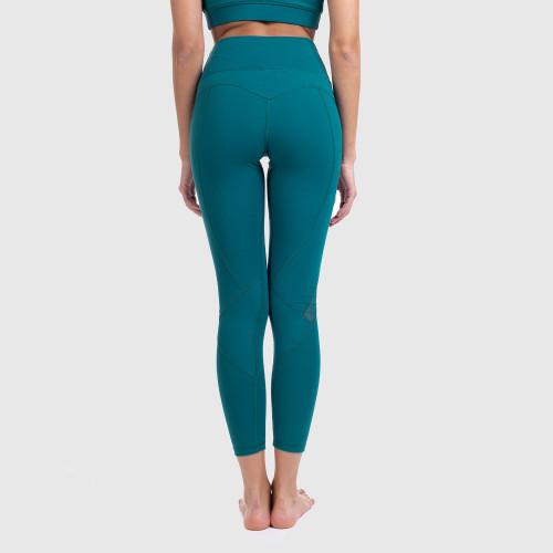 Női leggings NET - Iron Aesthetics, smaragd
