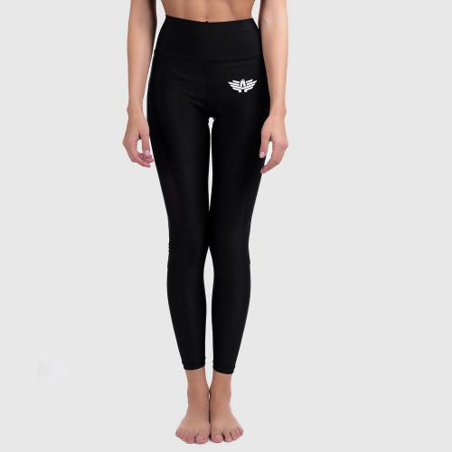 Női leggings NET - Iron Aesthetics, fekete