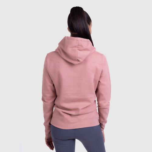 Női fitness pulcsi DONUTS, rózsaszín