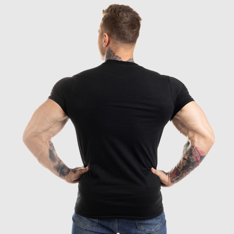 Ultrasoft póló Workout Till I Die, fekete-2