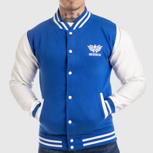 Férfi dzseki Iron Aesthetics Varsity Star, kék
