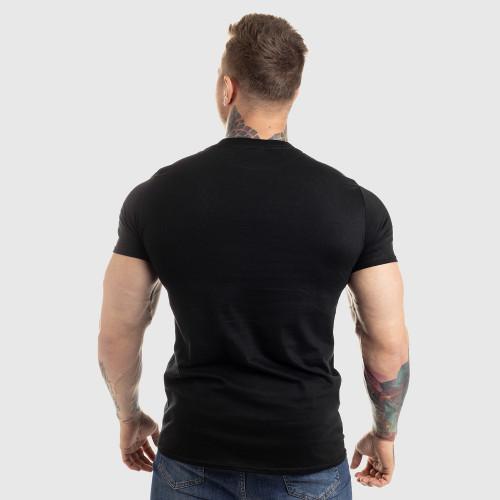 UltraSoft póló IRON MAN, black on black