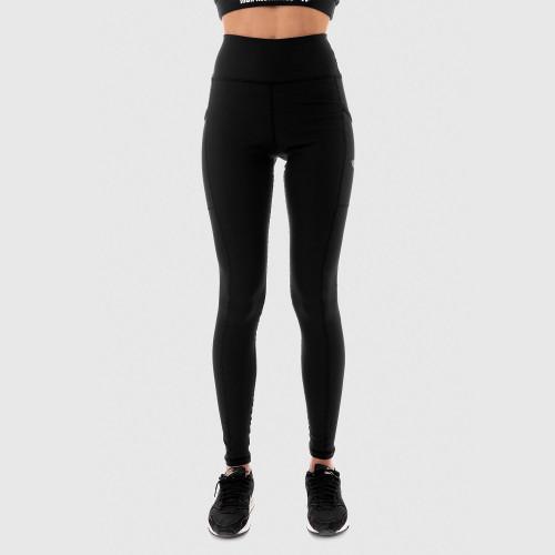 Női leggings POCKET- Iron Aesthetics, fekete