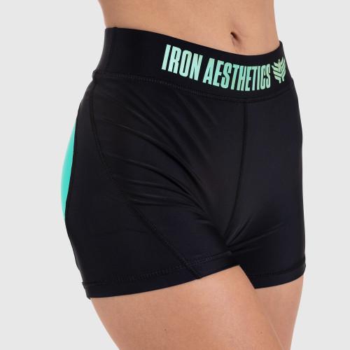 Női rövidnadrág HEART MINT - Iron Aesthetics, zöld