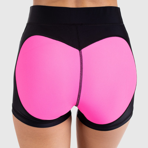 Női rövidnadrág HEART - Iron Aesthetics, rózsaszín
