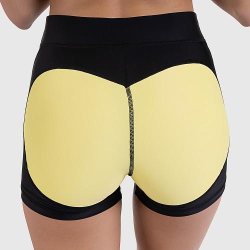 Női rövidnadrág HEART - Iron Aesthetics, sárga