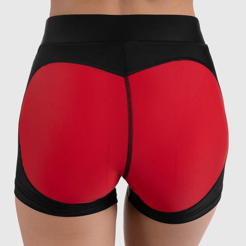 Női rövidnadrág HEART - Iron Aesthetics, piros