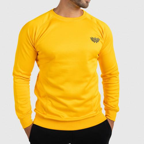 Fitness pulóver Iron Aesthetics Light Soft, sárga