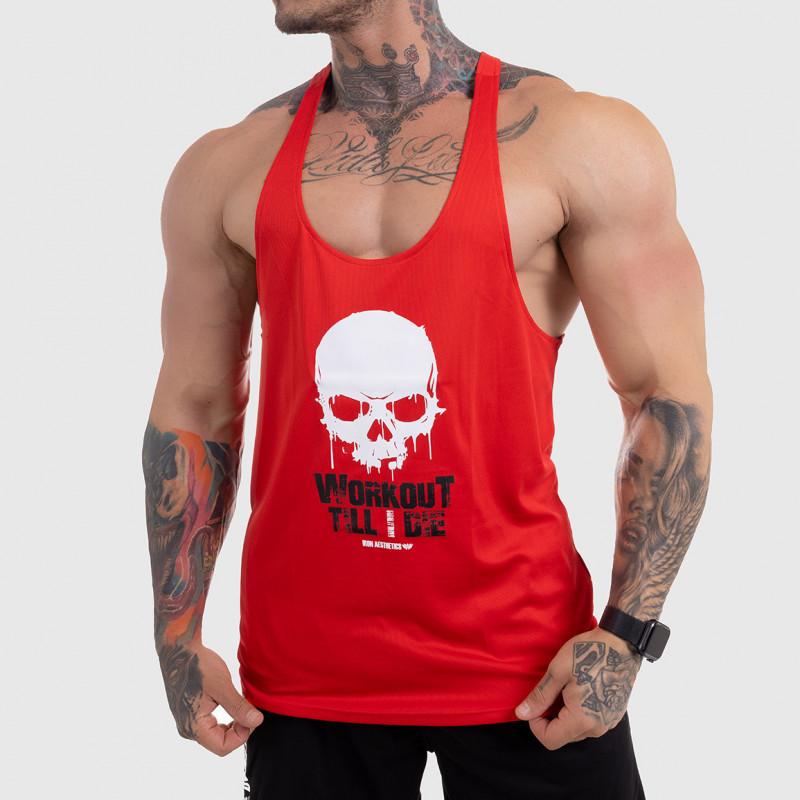 Funkciós atléta Workout Till I Die, piros-1