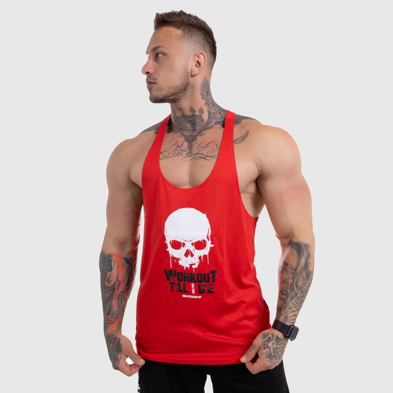 Funkciós atléta Workout Till I Die, piros-5