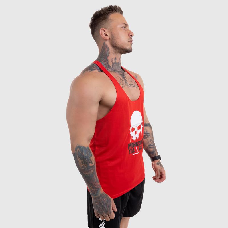 Funkciós atléta Workout Till I Die, piros-6