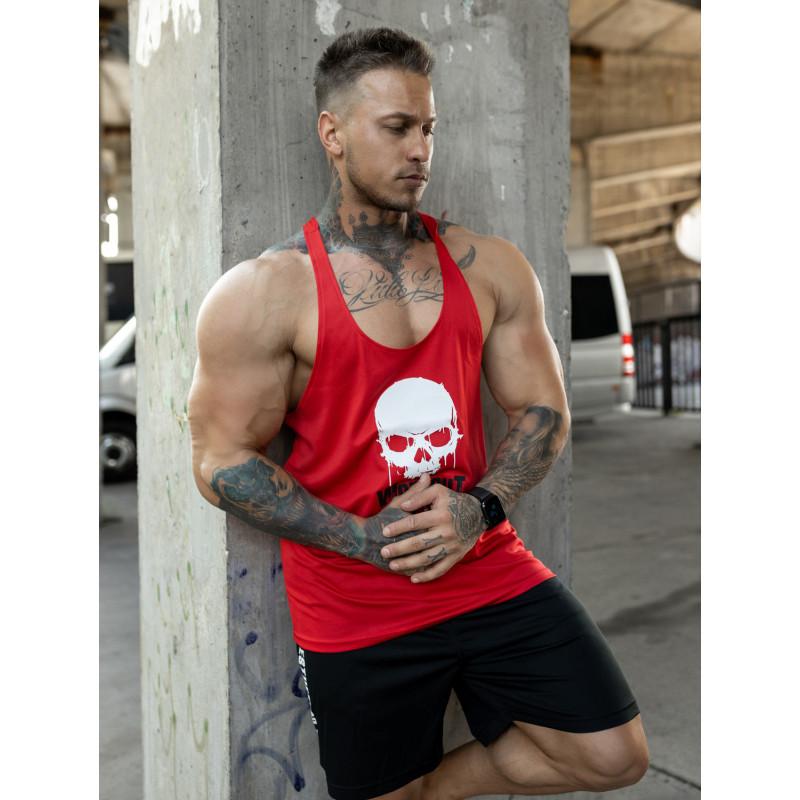 Funkciós atléta Workout Till I Die, piros-4