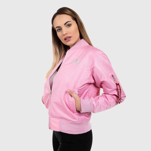 Női bomber dzseki Iron Aesthetics, rózsaszín
