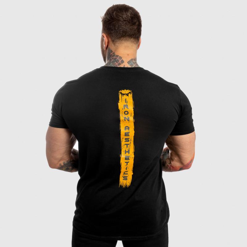 Férfi fitness póló Iron Aesthetics Force, fekete-2