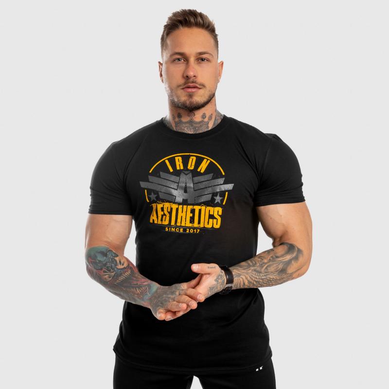 Férfi fitness póló Iron Aesthetics Force, fekete-6