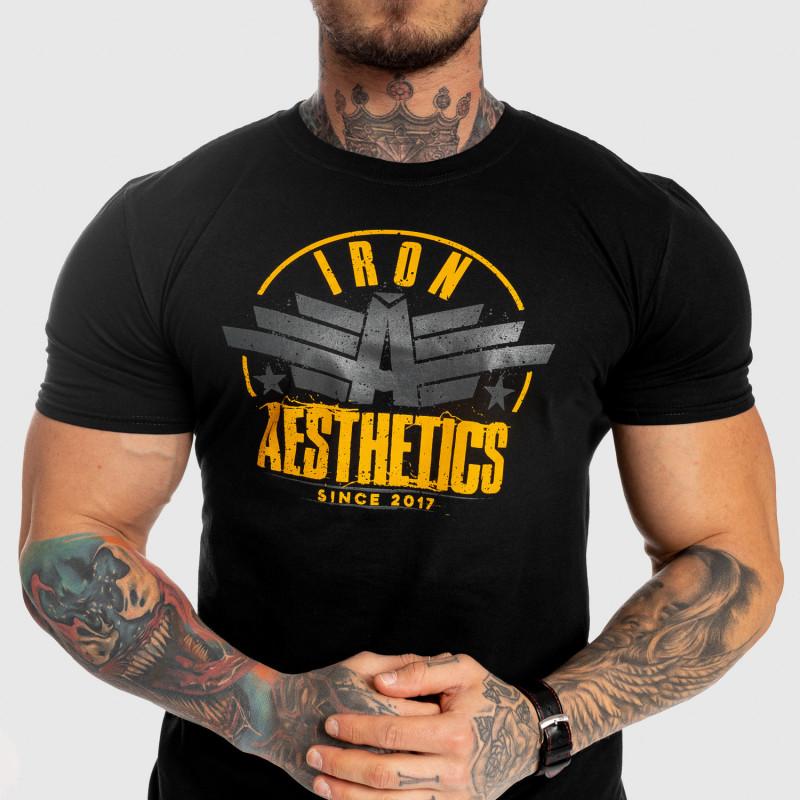Férfi fitness póló Iron Aesthetics Force, fekete-7