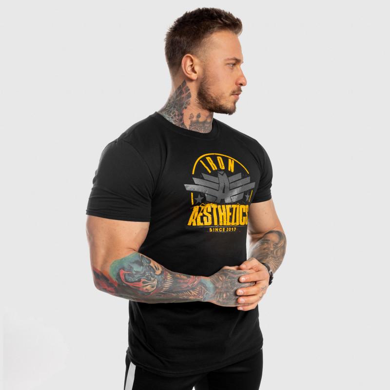 Férfi fitness póló Iron Aesthetics Force, fekete-9