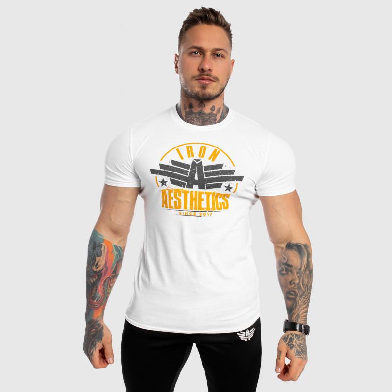Férfi fitness póló Iron Aesthetics Force, fehér-3