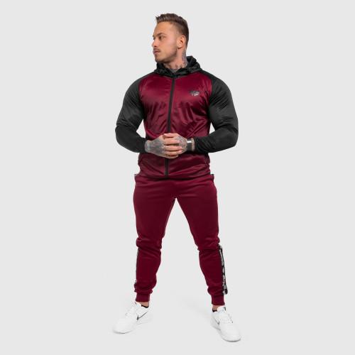 Férfi sportszett Iron Aesthetics Partial, bordó