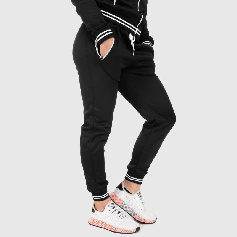 Női fitness melegítő nadrág Iron Aesthetics Original, fekete-1