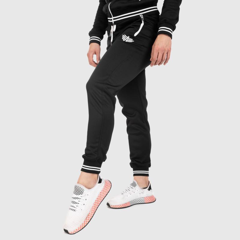 Női fitness melegítő nadrág Iron Aesthetics Original, fekete-2