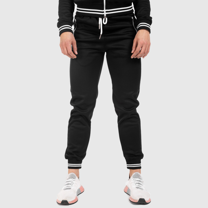 Női fitness melegítő nadrág Iron Aesthetics Original, fekete-4