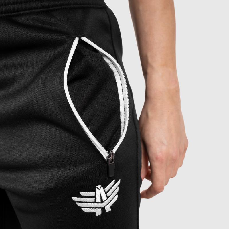 Női fitness melegítő nadrág Iron Aesthetics Original, fekete-5