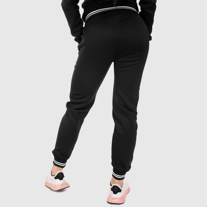 Női fitness melegítő nadrág Iron Aesthetics Original, fekete-6