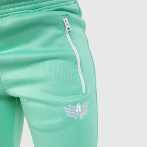 Női fitness melegítő nadrág Iron Aesthetics Original, mentazöld