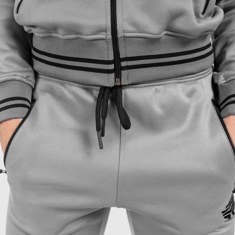Női fitness melegítő nadrág Iron Aesthetics Original, szürke-6